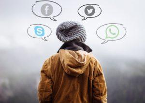 human Intercambio juvenil en España sobre las redes sociales