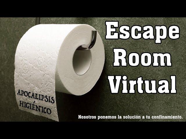 Apocalipsis Higiénico: una escape room virtual para jugar desde casa